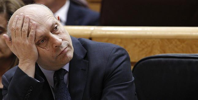José Ignacio Wert Ministro de Educación Cultura y Deportes
