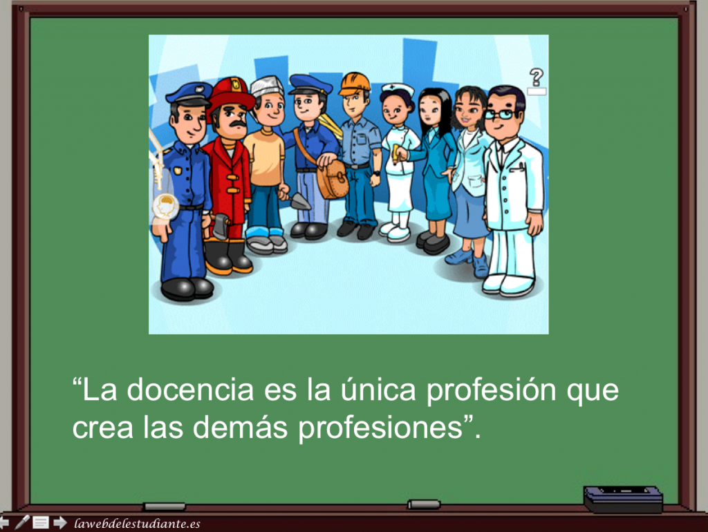 Profesión docente, Lawebdelestudiante 1